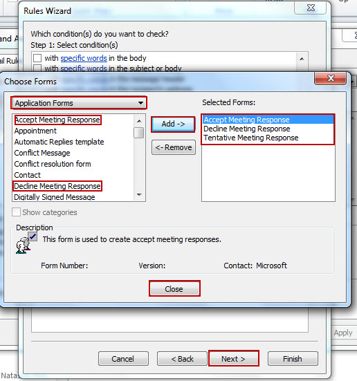 Outlook 2010/2013: Controlling the Clutter – Create Rules